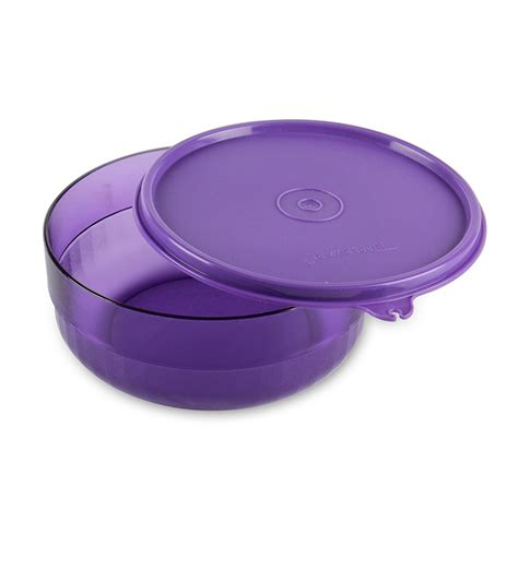 Tupperware Purple Tupperware Purple Deluxe Bowl By Tupperware Airtight Storage Kitchen Dining