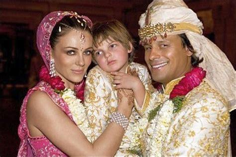 Elizabeth Hurley Weds by Liz Hurley And Arun Nayar S Wedding The The