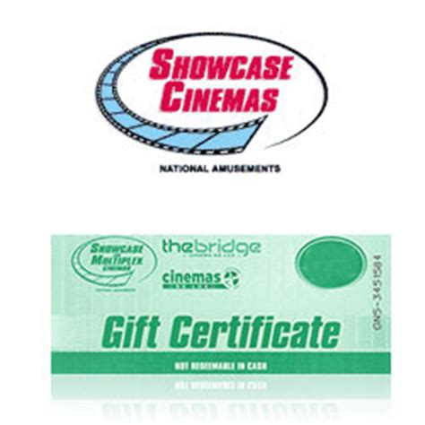 Showcase Cinema Gift Card - buy showcase cinemas gift cards at giftcertificates com