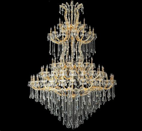 Maria Theresa Collection 85 Light Extra Large Crystal Large Chandeliers