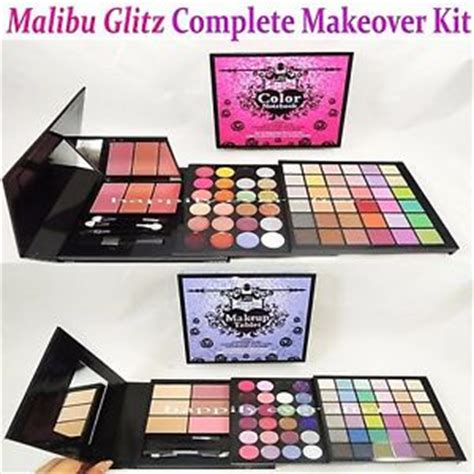 Makeup Makeover Palette malibu glitz make up palette complete makeover kit eye lip blush