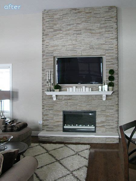 Electric Fireplace Makeover by 1000 Ideas About Fireplace Makeovers On Brick Fireplaces Fireplaces And Diy Fireplace