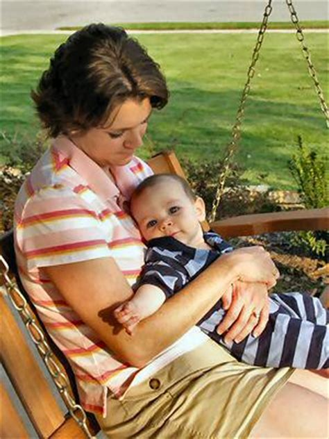 mom swinging baby inspirational and christian stories porch sittin