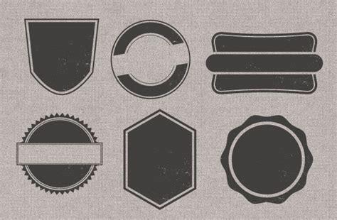 template badge photoshop vintage badge templates vectors shapes and textures