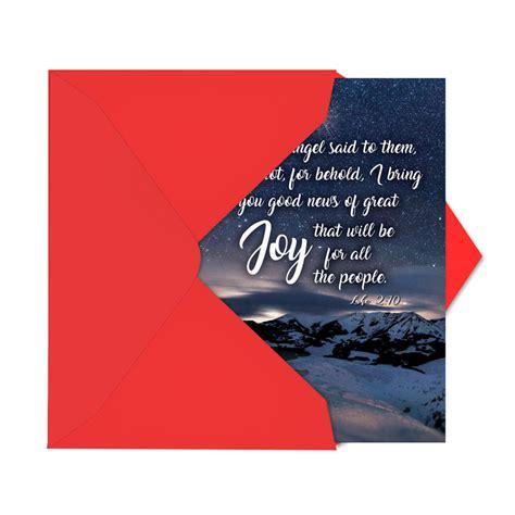 christmas quotes luke  stylish christmas paper card