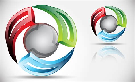 3d logo templates how to create 3d logo design in adobe illustrator cs5