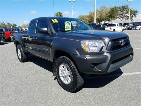 Toyota Tacoma Weight 2013 Toyota Tacoma Prerunner Access Cab Data Info And