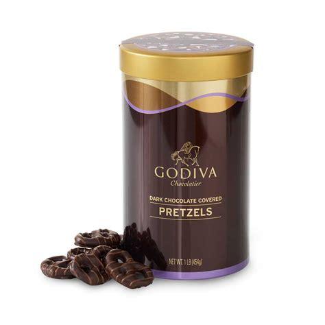 Coffee Toffee chocolate covered pretzels godiva