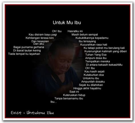 kata cinta  ibu   meninggal kata kata mutiara