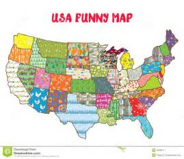united states map with patterns stock vector image
