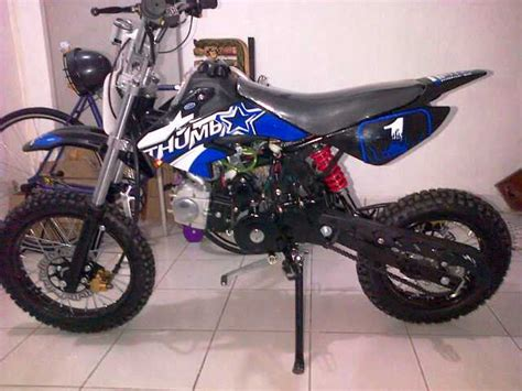 Harga Merk Emba mini trail 110cc jual motor merk binjai kota