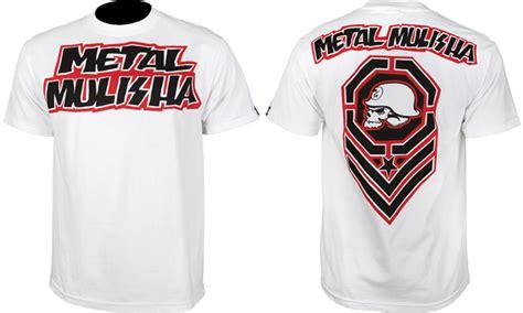 Tshirt Kaos Metal Gear metal mulisha fight gear collection fighterxfashion