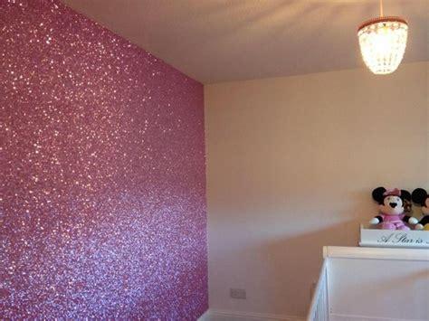 glitter wallpaper for bedroom walls 12 best glitter walls images on pinterest glitter walls