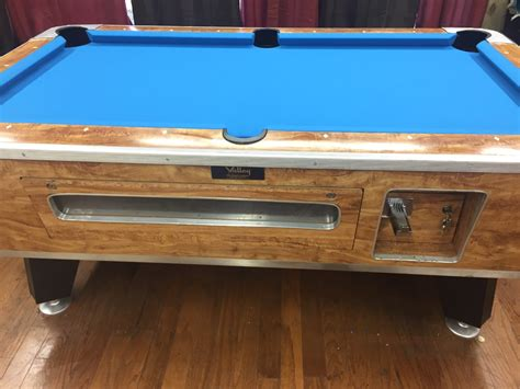 used valley pool table used valley pool table table 042617 valley used coin
