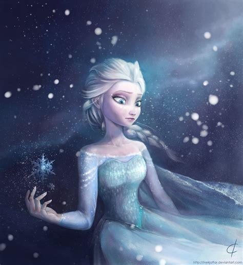 elsa painting elsa frozen fan 38671018 fanpop
