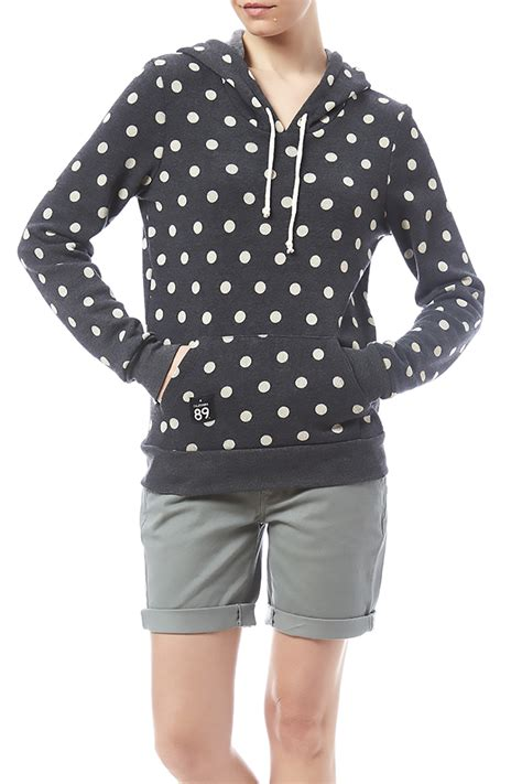 Baby Athletes With Hoodie california 89 polka dot athletic hoodie from california