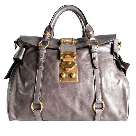 Valentino Laminated Vitello Bow Tote by Miu Miu Vitello Bow Satchel Handbag