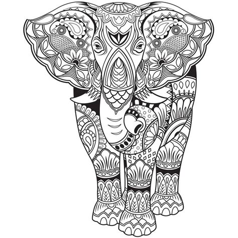 stress relief coloring pages elephant elephant zentangle pages coloring pages