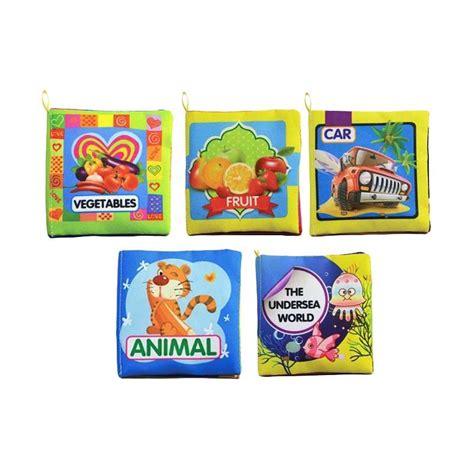 Mainan Bayi Kricik Baby Toys jual best baby soft books mainan edukasi buku kain