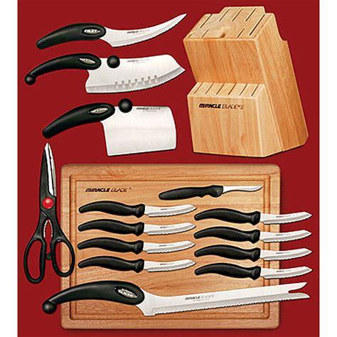 Miracle Blade III 17 Piece Knife Set   Walmart.com