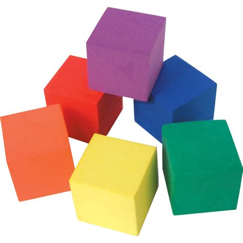 foam color cubes tcr20615 created resources