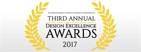 design excellence competition design award 2017 montgomery planning