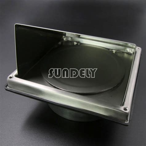 Cooker Vent Cover In 7 Sizes Stainless Steel Air Vent Duct Grill Tumble