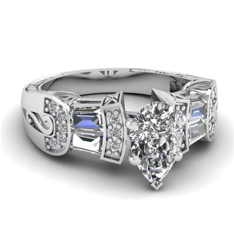 wide band engagement rings fascinating diamonds