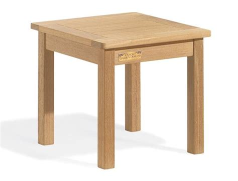 Wood Side Table Shorea Wood Side Table