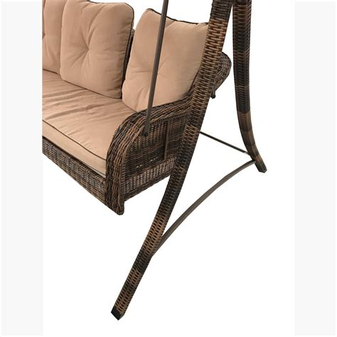 sicily swing replacement canopy for palermo swing brown garden winds