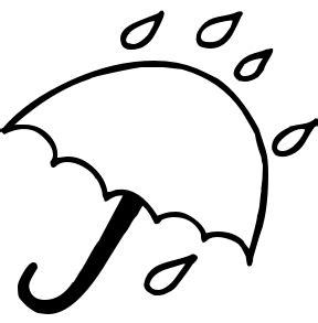 umbrella rain clipart clipart image 12292
