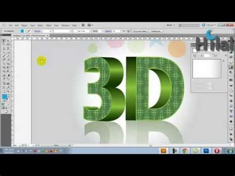 3d logo text illustrator tutorial youtube 146 best images about graphic design on pinterest