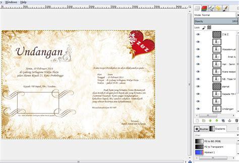membuat watermark dengan gimp membuat desain undangan dengan gimp ayuk berbagi