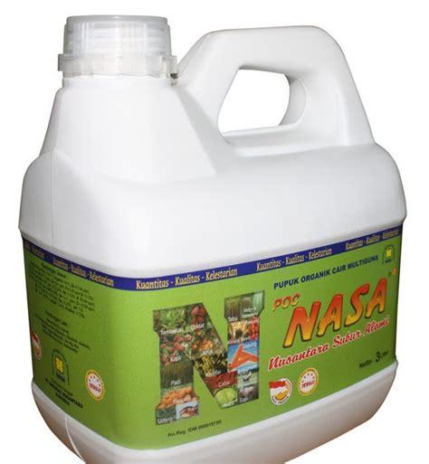 Pupuk Cair Organik Nusantara Poc Nasa poc nasa 3 liter distributor pupuk tanaman nusantara
