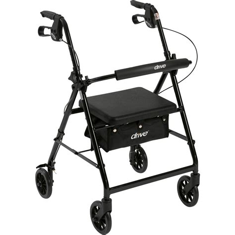 walkers for seniors with seat near me drive trigger release folding walker walmart