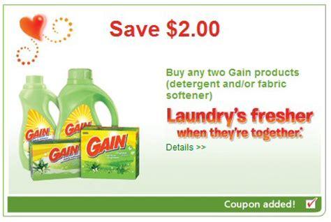 Gain Detergent Coupons Printable 2014
