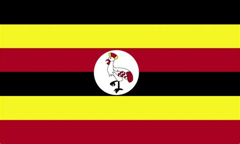 flags of the world uganda flag of uganda 2009 clipart etc