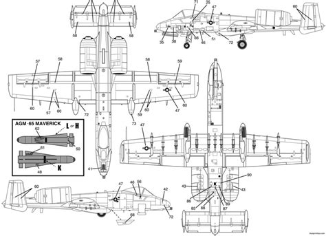 site plan drawing a10 a 10 warthog 1 plans aerofred download free model