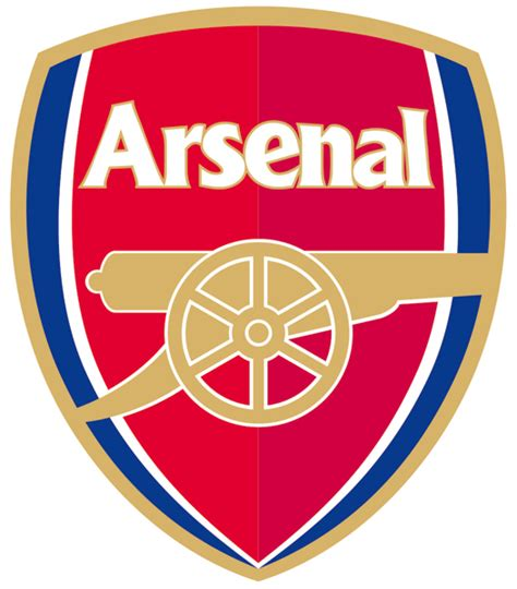 the color badge fc arsenal badge color