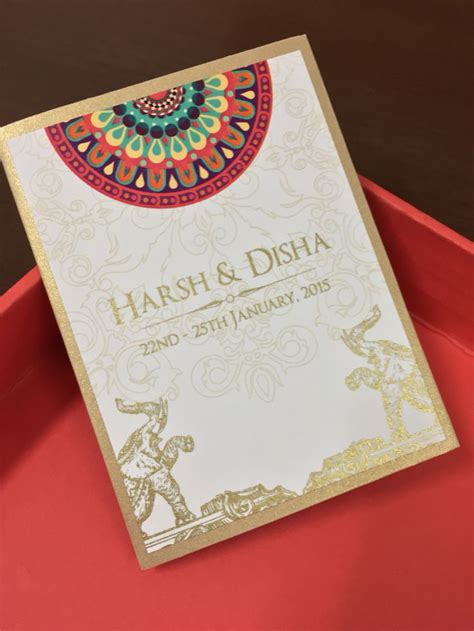 Indian Wedding Invitation Printing by 17 Best Ideas About Indian Wedding Cards On