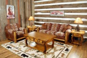 Rustic Livingroom Furniture by Fabric Upholstery Country Home Furniture Ranch Style