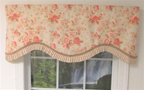shabby chic pink cornice valance thecurtainshop com