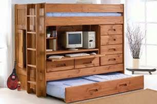 bunk bed desk dresser shark attack room