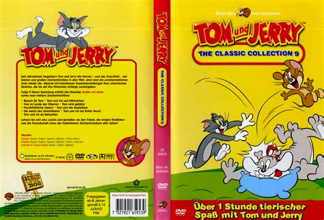 Dvd Tom Jerry Classic Collections tom und jerry the classic collection 9 dvd cover 1965 r2 german