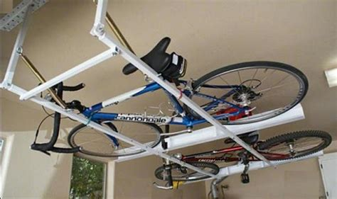 bike rack for garage get it to saving space home interiors
