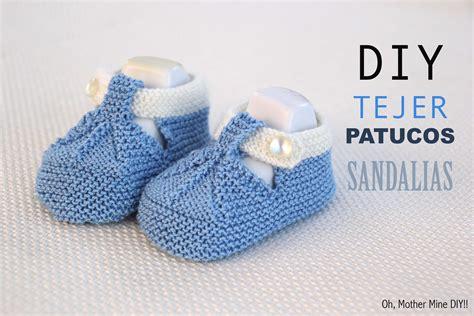 como hacer zapatitos tejidos para bebes youtube diy c 243 mo tejer patucos sandalia para bebe patrones gratis