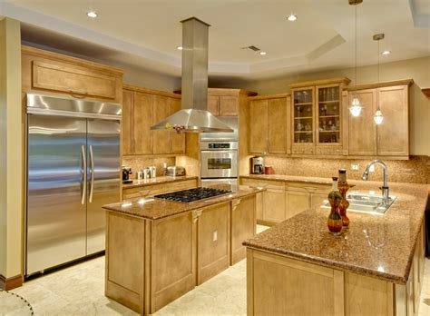 high end kitchen islands 25 u shaped kitchen designs pictures designing idea