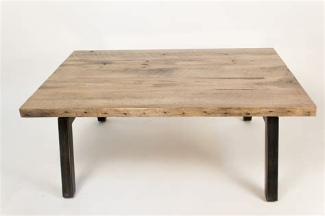 Industrial Home Decor by Reclaimed Oak Coffee Table Omero Home