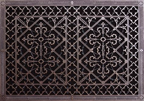 decorative wall return air grille arts crafts style decorative grille vent grate or