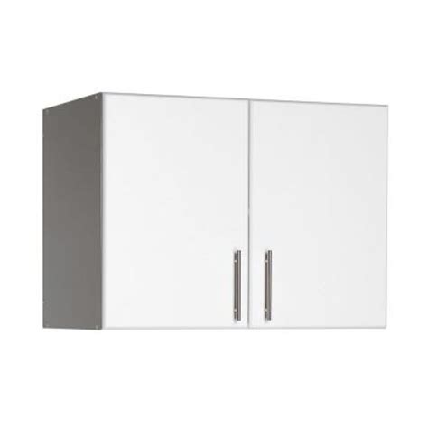 home depot wall cabinets laundry room prepac elite 32 in wood laminate cabinet in white wew